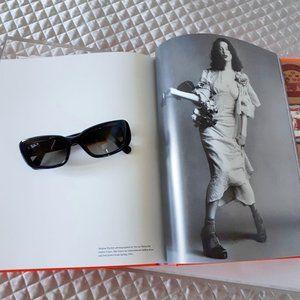 NWOT Ray-Ban black & brown rectangle sunglasses